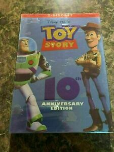 TOY STORY DISNEY - DVD 2 DISC 10TH ANNIVERSARY EDITION - BRAND NEW SEALED