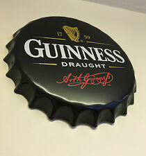 Guinness Metal Wall Sign Retro Tin Steel Plaque Home Bar Man Cave