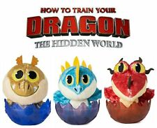 "Dreamworks How To Train Your Dragon Hidden World Egg 3"" Plush Sealed Collectible"