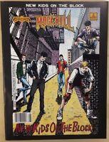 ROCK N' ROLL COMICS MAGAZINE #2 New Kids On The Block (1990) Revolutionary FINE