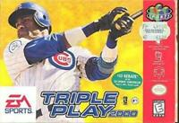 Triple Play 2000 Nintendo 64 N64 Game Used