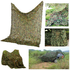 Woodland camouflage camo hide camping birdwatching hunting car cover army net 4M