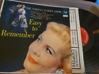 The Norman Luboff Choir Easy to Remember LP 33 Columbia 6 eye CL 545 EX/VG