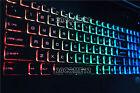NEW For MSI GE72VR GT73EVR GF72 GF72VR keyboard US Color Backlit Crystal