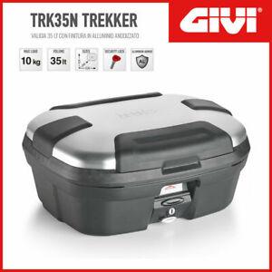 GIVI VALIGIA BAULETTO CENTRALE / LATERALE TREKKER TRK35N litri 35 Alluminio