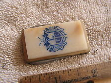 Vintage Money Clip knife Anvil Stainless with Nice Insiginia