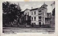 uralte AK Ostseebad Misdroy Międzyzdroje Dresdner Jugendheim 1937 //69