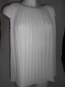 New Catherine Malandrino white top L RRP £129
