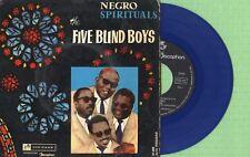 THE FIVE BLIND BOYS / Vinyl Blue / TOP RANK DISCOPHON 27.005 Spain 1961 EP VG+