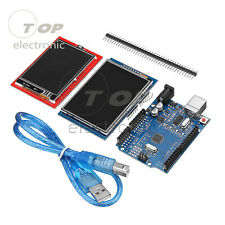 UNO R3 board + 2.8TFT + 2.4TFT LCD Touch Screen Display Module Kit For Arduino