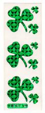 Vintage Sticca Graphics Prism Clover Shamrocks Stickers Strip
