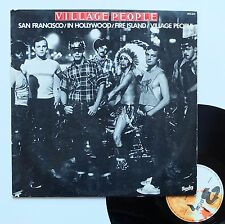 "Vinyle 33T Village People  ""San Francisco/ In Hollywood"""