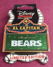 DSF DSSH Disney Nature Bears El Capitan Theatre Marquee LE 400 Pin
