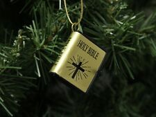 Small Holy Bible Christmas Ornament, Style #2
