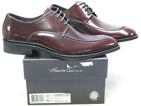 KENNETH COLE NY Men's MEANING OF LIFE Bordeaux Patent Oxford US 8.5 M KM45230BO