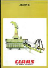 CLAAS FORAGER JAGUAR 61 - FORAGE HARVESTER BROCHURE - PY1