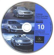 Mercedes-Benz Navigation CD #10 for COMAND CANADA Ver 11/05 NAVTEQ Road Map