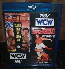 SuperBrawl Super Brawl I II 1991 1992 92 NWA WCW Blu-ray Wrestling Ric Flair