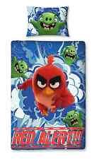 Nuevo Angry Birds La Película Conjunto de rescate de cama individual Edredón Edredón Cubierta Juego De Cama