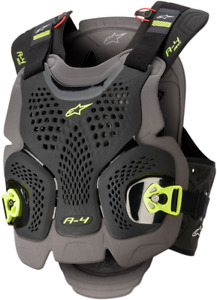 Alpinestars A-4 Max Chest Protector XS/S Black/Yellow 67015201155XS/S
