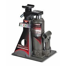 Powerbuilt 4000Lb Wide Base Lift Unijack Bottle Jack & Jackstand in One, 2 Ton