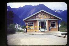 Kinbasket Coffee Shop, British Columbia, Canada in 1948, Kodachrome Slide g11a