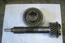 Triumph TR3A, TR3B, TR4, TR4A used gearbox input shaft / matching cluster wheel