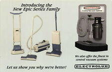 Electrolux The New Epic Series Vacuum Cleaners Postcard