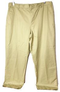 Zero Restriction Tour Series Men Size 40 X 30 (Actual 39 X 29) Khaki Golf Pants