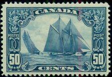 CANADA #158, 50¢ Bluenose, og, LH, VF, Scott $225.00