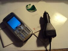 RETRO  SONY ERICSSON K700I  MOBILE PHONE ON OLD VIRGIN/T-MOBILE+CAR CHARGE