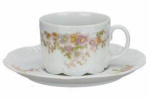 Teetasse mit Untere Rosenthal Monbijou Fortune