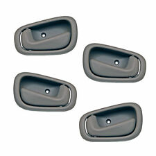 4 Pc Set of Gey Interior Handles 2 Left & 2 Right Fits 1998-2003 Toyota Corolla