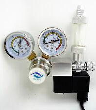 The Barn Co2 regulator magnetic solenoid 2 Gauge bubble counter aquarium CGA320