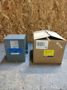 "NEW SQD 2S8F 2kva Transformer 1 Single Phase 277v-120v/240v  3R Wall Mount ""AK"""