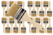 24 Pk- 2 1/2 inch Chip Paint Brushes for Paint, Stains,Varnishes,Glues,Gesso