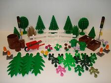 Lego - Plants/Trees/Flowers/Fencing/Signs /Accessories - Multiple Variations!