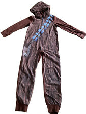 Star Wars Child Size Chewbacca Costume Hooded Zipper Front 100% Polyester