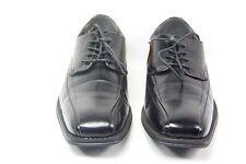 J. Ferrar Men's Derby Dress Oxford Square Toe Black Size 10