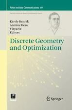 Fields Institute Communications: Discrete Geometry and Optimization 69 (2015,...