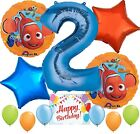 Finding Nemo Party Supplies Balloons Decoration Bundle for 2nd Birthday