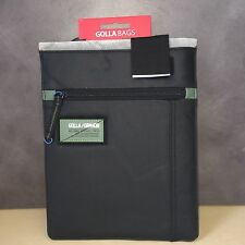 "NEW, Genuine Golla GIBB G1333 10.1"" Tablet Pocket Sleeve Bag Case (Black)"
