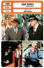 FICHE CINEMA : COUP DOUBLE - Lancaster,Douglas,Wallach,Durning 1986 Tough Guys