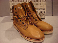 WHITE PREMIATA MEN'S BRUCE 350 BROWN SHOES BOOTS SIZE 12 - BRAND NEW - NWT