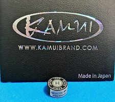 (1) Genuine H KAMUI BLACK Pool Cue Tip ( HARD ) - w/ serial number