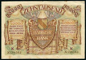 Germany 10.000 Mark , 1923