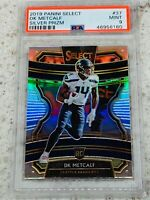 2019 Panini Select Concourse ROOKIE Silver Prizm #37 DK METCALF PSA 9 Pop 5 RC!!