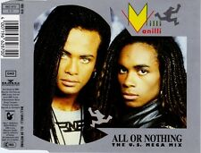 MILLI VANILLI - All or nothing (The US Mega Remix) 3TR CDM 1989 Frank Farian