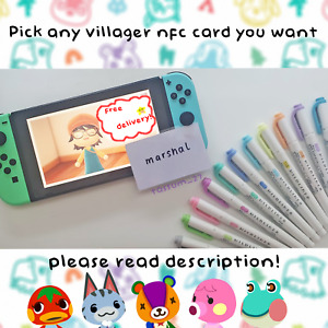Animal Crossing New Horizons Amiibo NFC Cards PICK ANY! *FREE 1ST CLASS DELIV!*