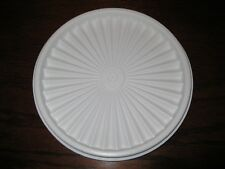 "TUPPERWARE ~ REPLACEMENT LID / SEAL ~ 6.5"" SERVALIER INSTANT SEAL #808 ~ WHITE"